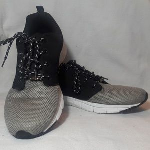 Marc Polo Black and Silver Size 12 Sneakers